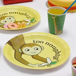 Birthday Party Plate Supplies