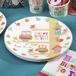 Owl Party Plate Supplies