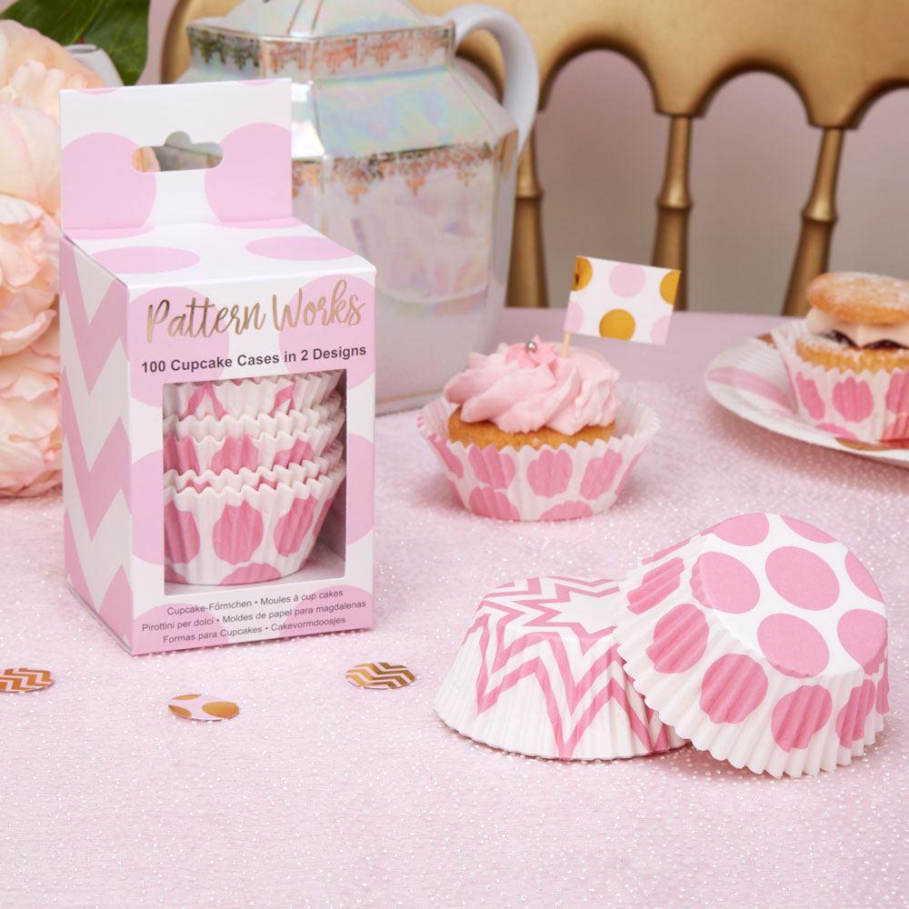 Pattern Works - Cupcake Cases Pink | Trade & Wholesale Party ...