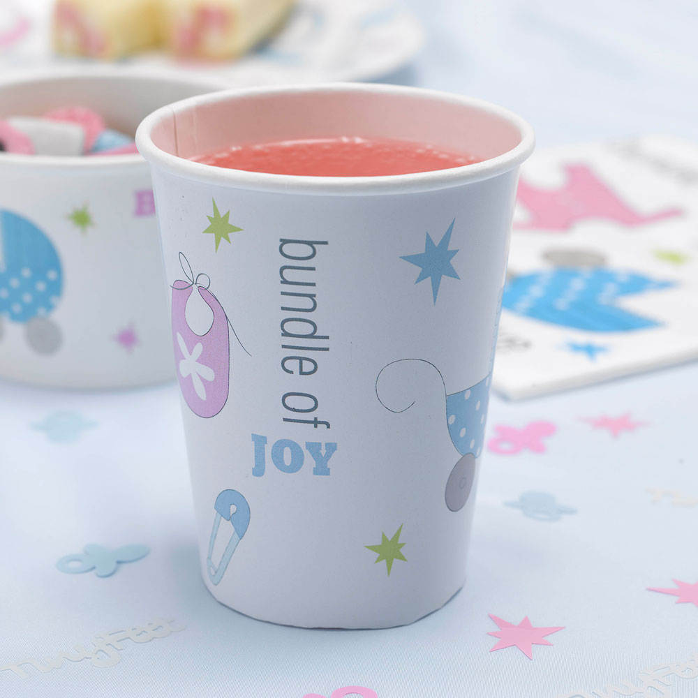 Tiny Feet - Paper Cups | Trade & Wholesale Party | cscimports