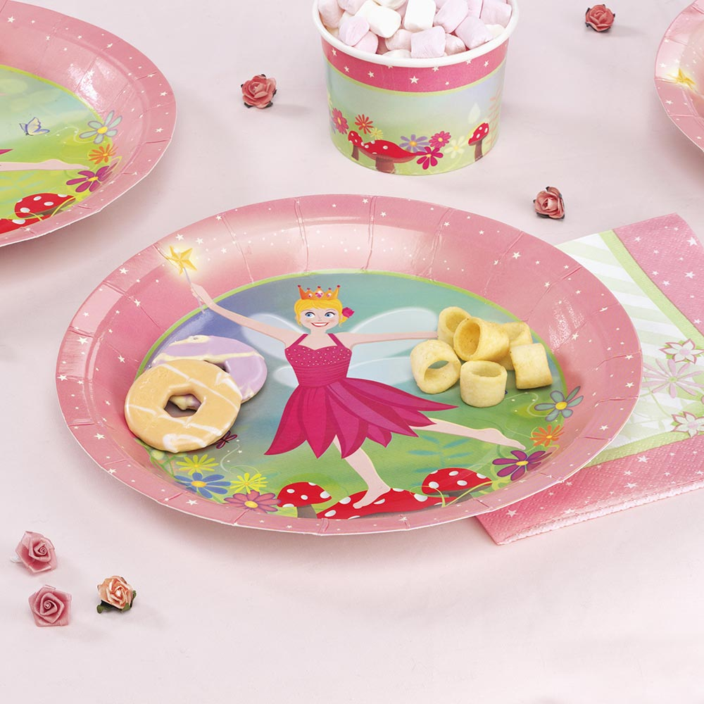 Fairy Princess - Paper Plates - REDUCED BY 50% & Fairy Princess - Paper Plates - REDUCED BY 50% | Trade \u0026 Wholesale ...